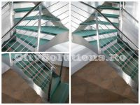 interior glass stair - sitssminox-l2
