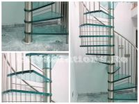 modern glass stair - sitssminox-s