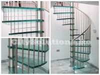 interior glass stair - sitssminox-s1