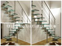 modern glass stair - sivctssminox-l