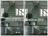 stainless steel glass stair - sivctssmtr-l